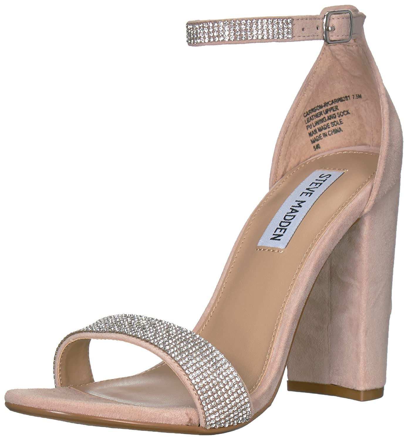 38c4158481d Amazon.com  Steve Madden Women s Carrson-R Heeled Sandal  Shoes