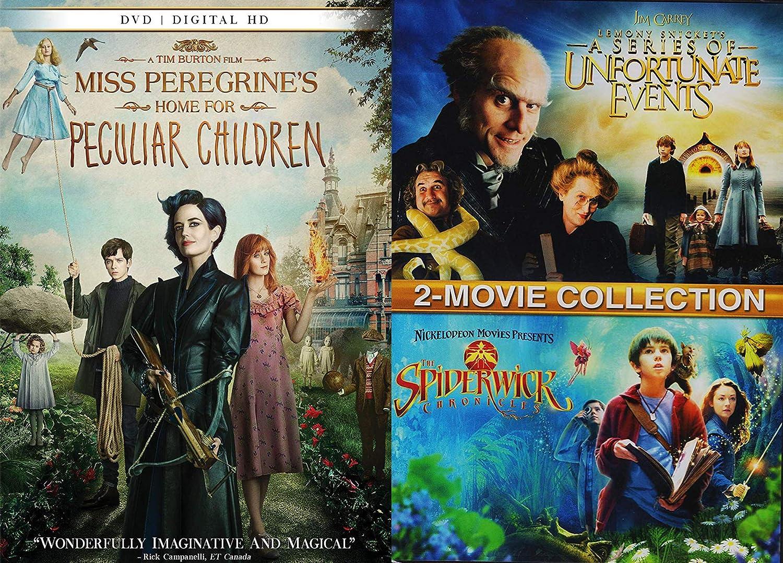 Amazon Com Odd Peculiar Kids Movie Night Pack Miss