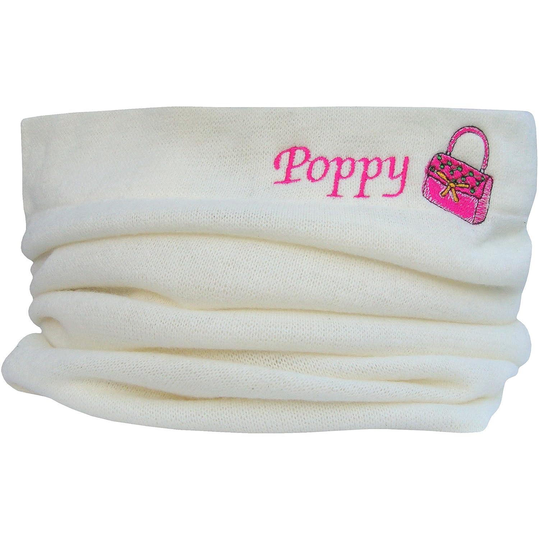 Girl's Personalised Name & Handbag Design Winter Snood