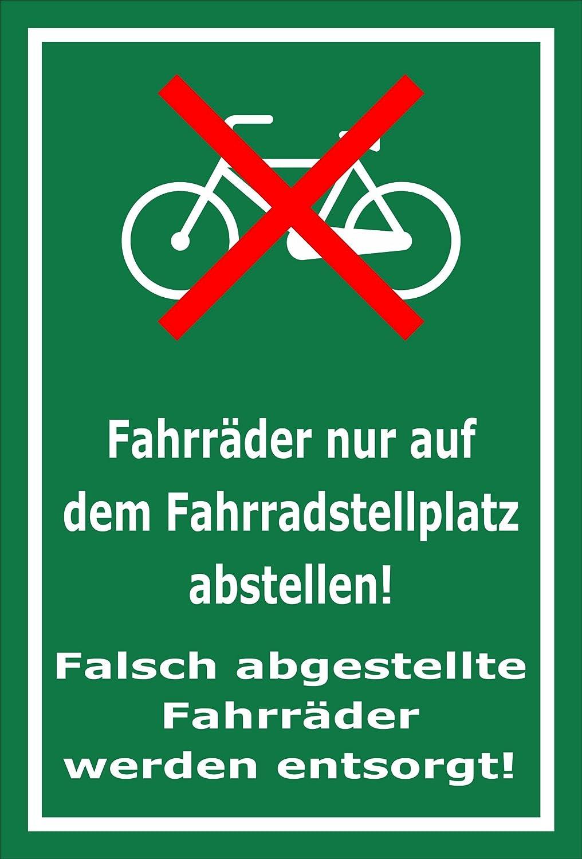 Melis Folienwerkstatt meliso Pantalla Taller Etiqueta Cartel–Bicicleta de aparcamientos–s00050–012de G