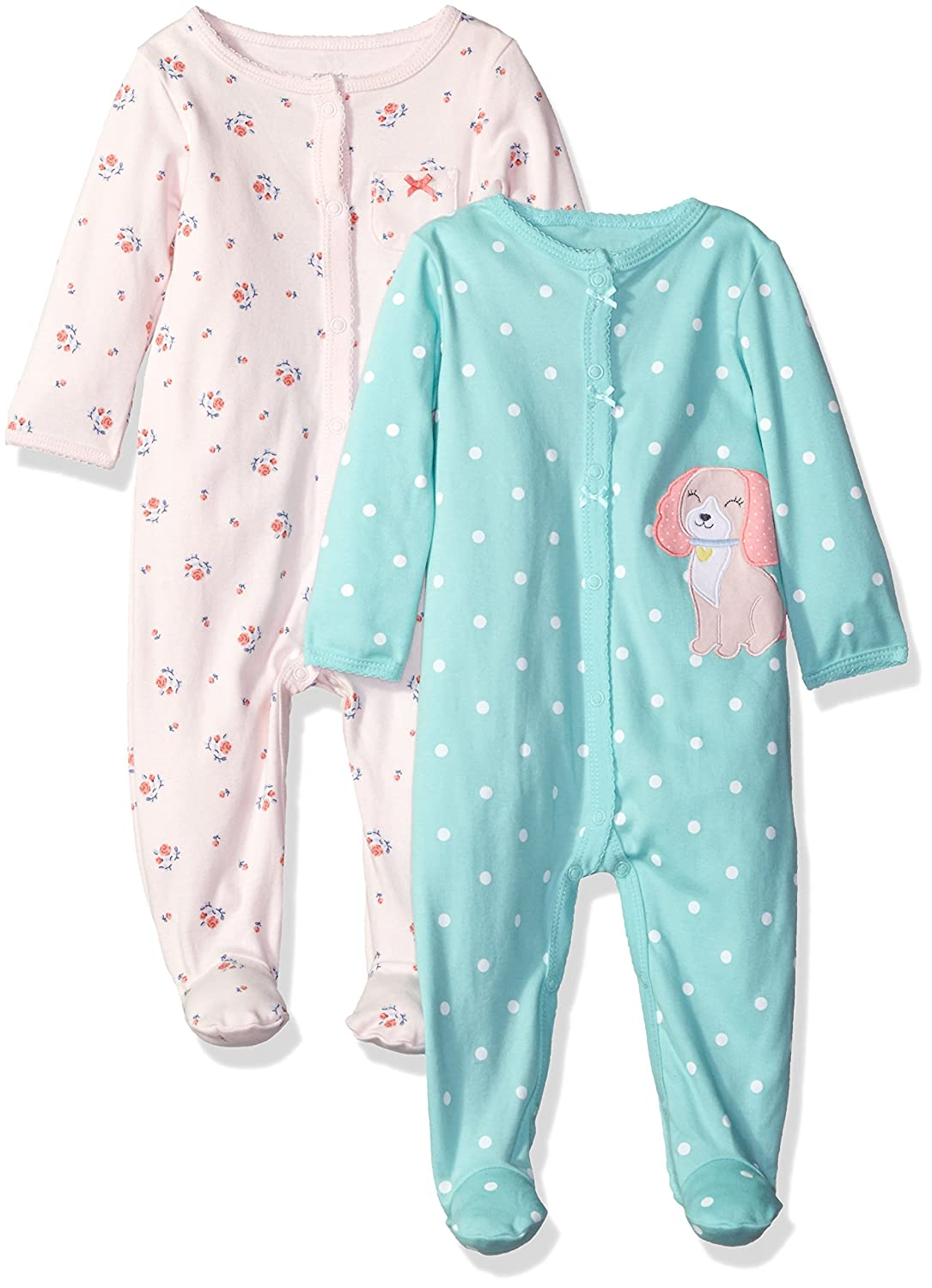 65a0002c4 Amazon.com  Carter s Girls  2-Pack Cotton Sleep and Play  Clothing