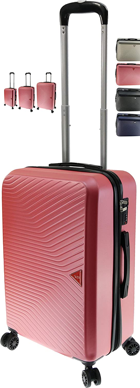 Maletín rígido Vida VR620 con relación calidad/precio superior Corail (Pink) S-CABINE-32/40L-2.6Kg-35x20x55cm