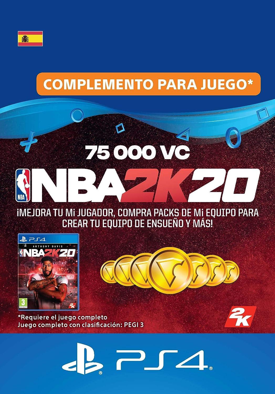 NBA 2K20 - 75,000 VC [Código de descarga PSN - Cuenta española ...