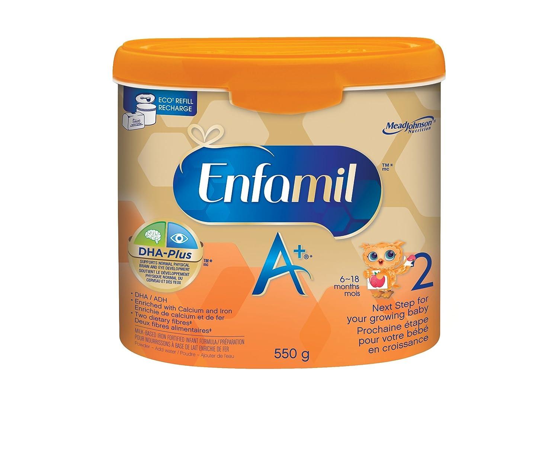 Enfamil A+ 2 Infant Formula, Concentrated Liquid, 385mL, 12 cans Enfapro A+