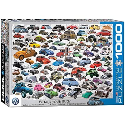 EuroGraphics VW Beetle What's Your Bug? (1000 Piece) Puzzle: Toys & Games