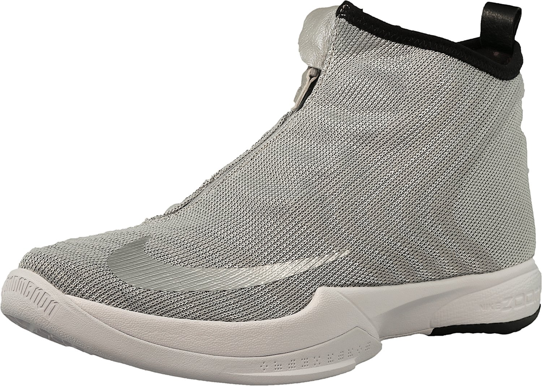 Nike Zoom Kobe Icon Sneaker B01GX5LETQ 9.5 D(M) US|Metallic Silver/Metallic Silver-white-black