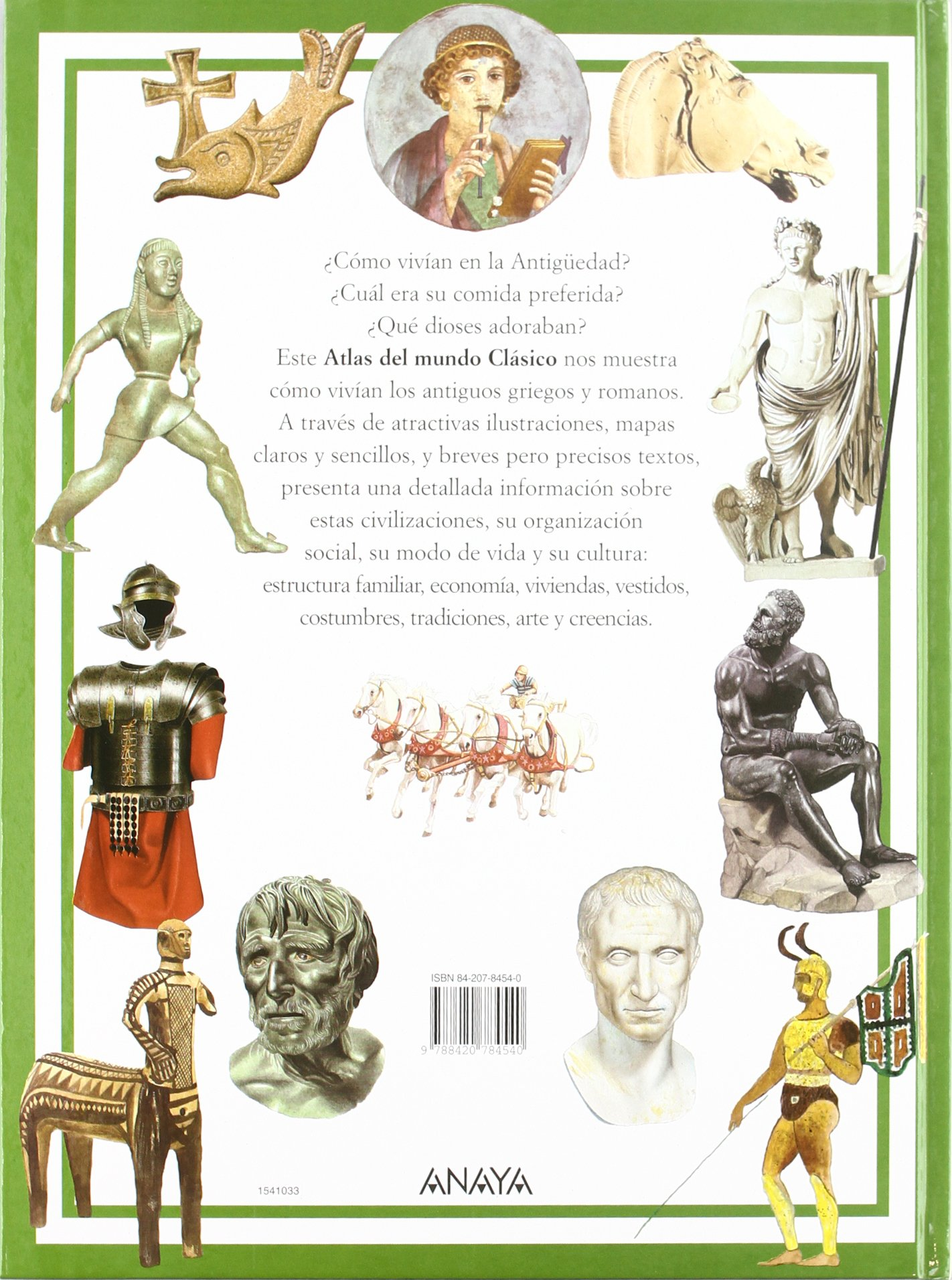 Atlas del mundo clasico / The Atlas of the Classical World: Grecia y Roma en la antiguedad / Ancient Greece and Ancient Rome (Spanish Edition): Piero Bardi, ...