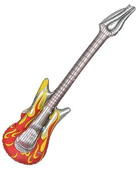 Vegaoo - Guitarra Hinchable Rock - Única: Amazon.es ...