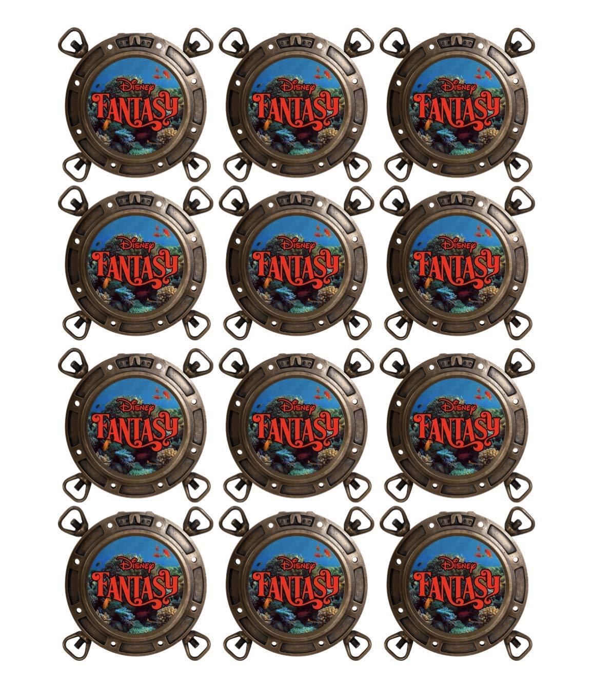 FE Disney Dream DCL Porthole Gift Magnets Magic Wonder Gift FREE SHIPPING | Fantasy 12 Fish Extender Gifts 12 Disney Cruise Gift Magnets