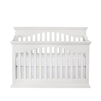 Amazon.com : Suite Bebe Bailey 4-in-1 Convertible Crib White : Baby