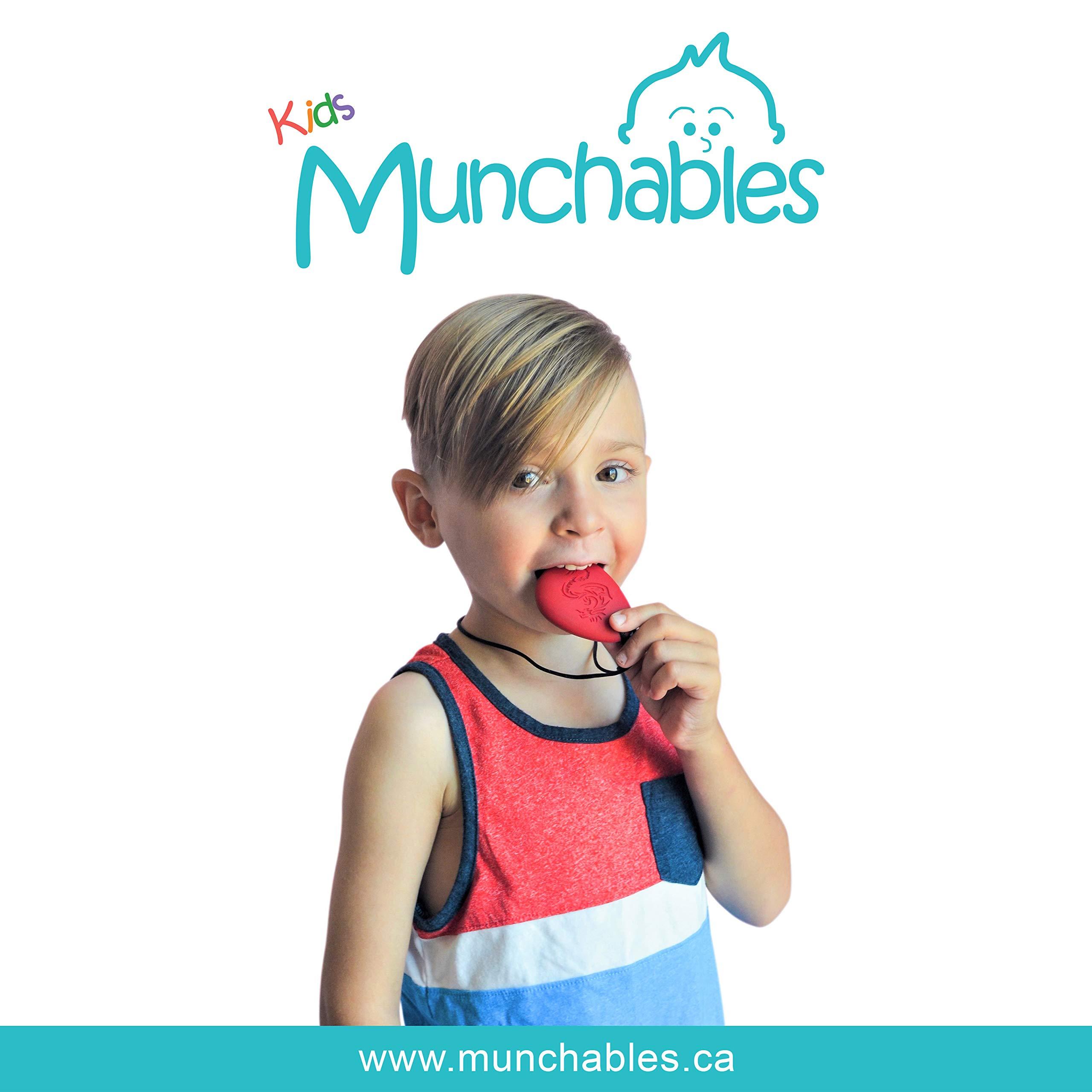 Dragon Sensory Chewelry - Munchables Chew Necklace (Red) by Munchables Chewelry (Image #8)
