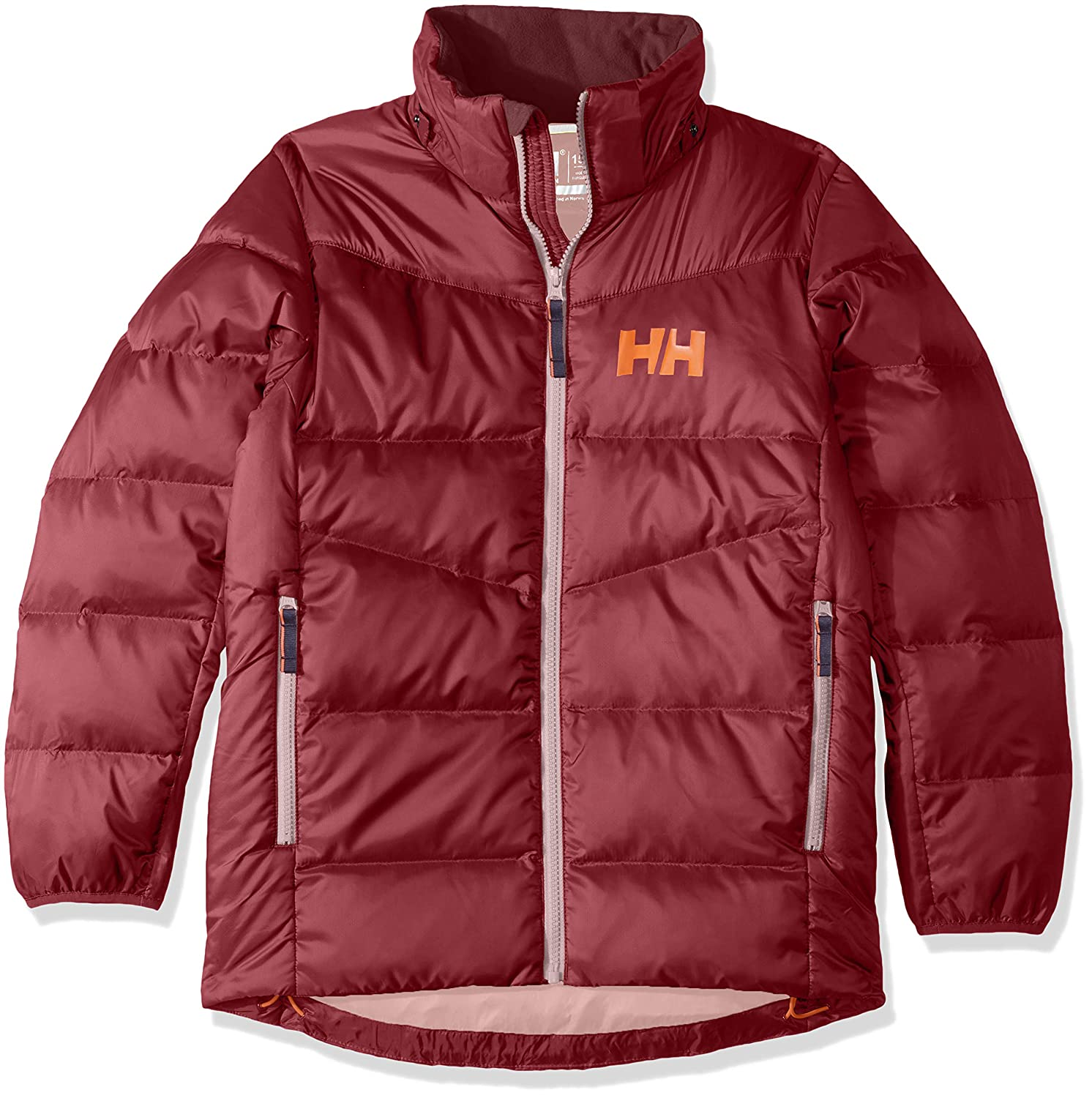 834ec980 Amazon.com: Helly Hansen Jr Isfjord Down Mix Insulated Jacket: Clothing