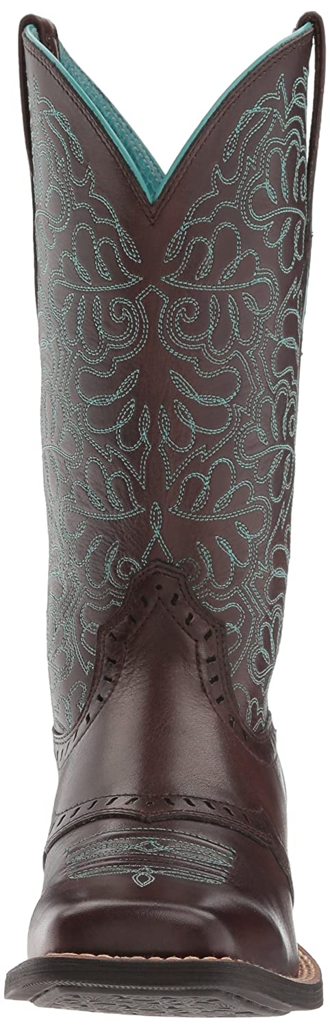 Ariat Women's Round up Remuda Western Cowboy Boot B01L98U2O0 8 B(M) US|Naturally Dark Brown