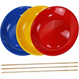 Platos chinos con palo de madera - Varios colores - 3 unidades - SchwabMarken