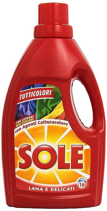 98 opinioni per Sole Detersivo per Bucato in Lavatrice e a Mano, Tutticolori con Agenti