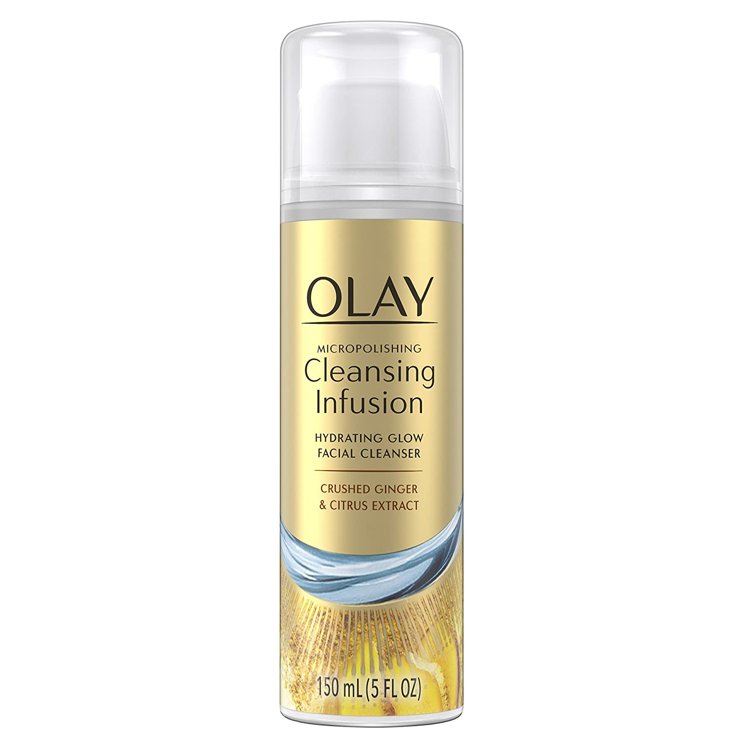 Olay Cleansing Infusion Hydrating Glow Facial Cleanser, Deep Sea Kelp & Aloe Extract, 150 Ml Procter and Gamble