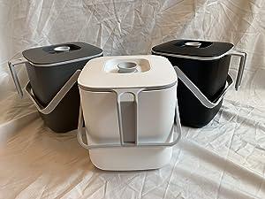 Need Industrial Premium Food Waste Basket (White)