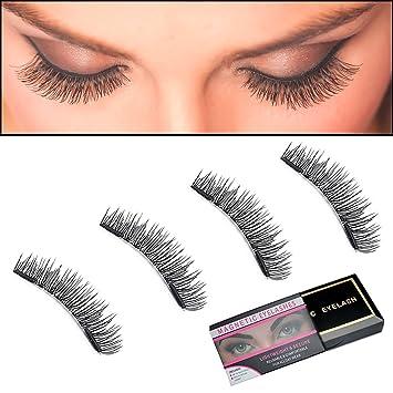 190f019f319 Magnetic Eyelashes, Alinee Full Size False Eyelashes Extension Set (4 pieces)  - Handmade