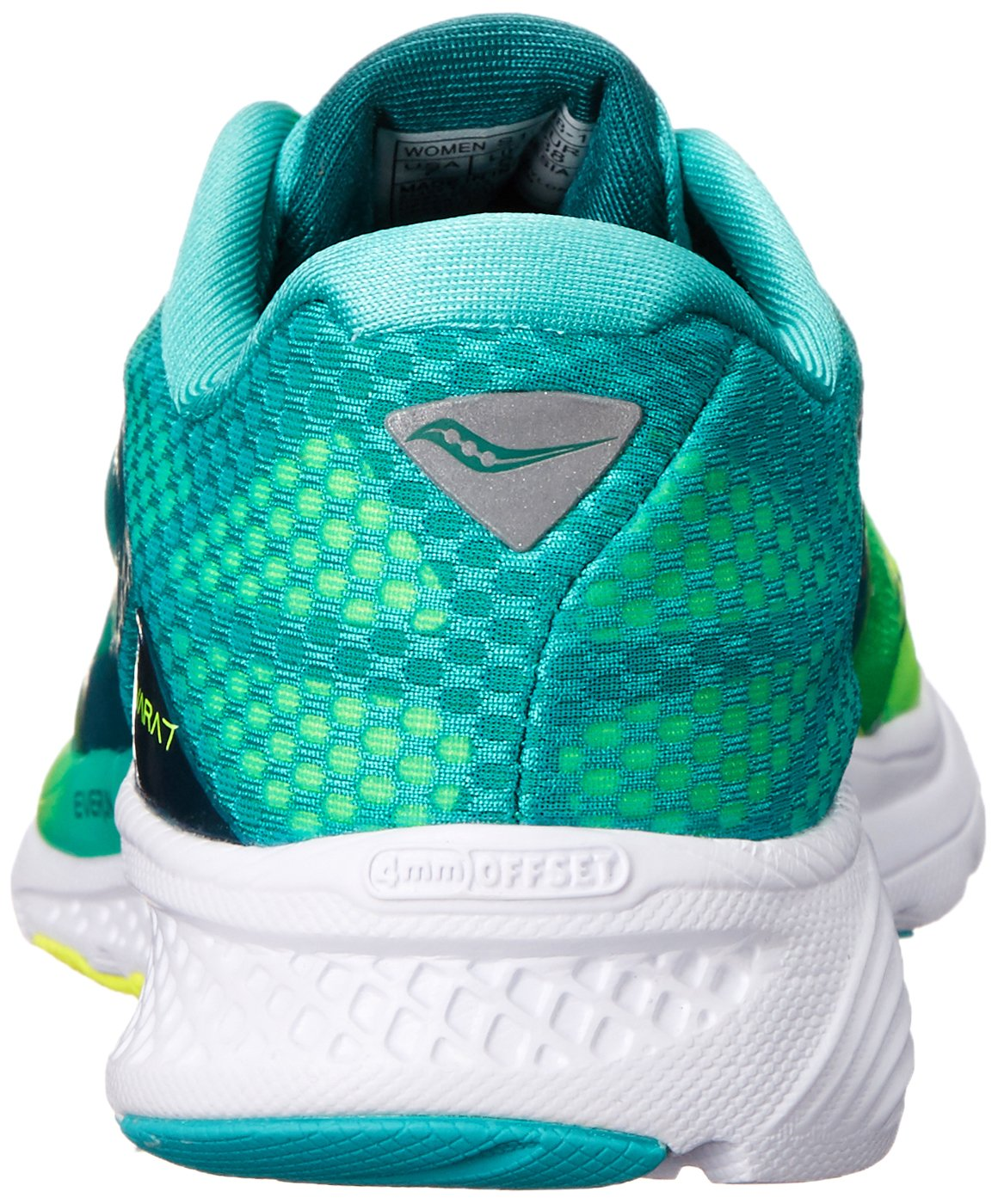 Saucony Women's B00YBFI41W Kinvara 7 Running Shoe B00YBFI41W Women's 5 B(M) US|Teal/Citron 15b05c