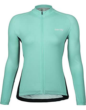 8090555f622 Beory Womens Cycling Jerseys with Short Sleeves