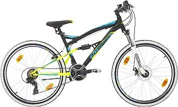 Bikesport Parallax Bicicleta De montaña Doble suspensión 26 ...
