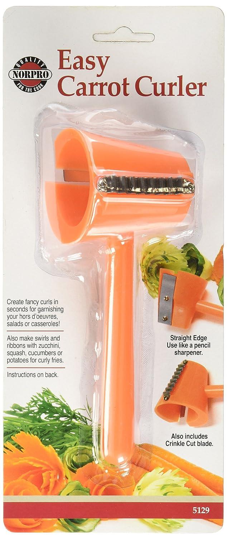amazon com norpro 5129 easy carrot curler kitchen u0026 dining