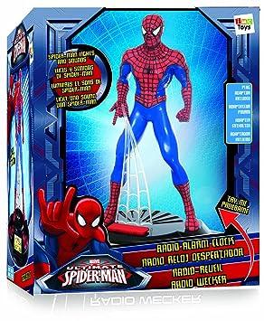 spiderman 550919 jeu lectronique radio rveil figurine spider man 4