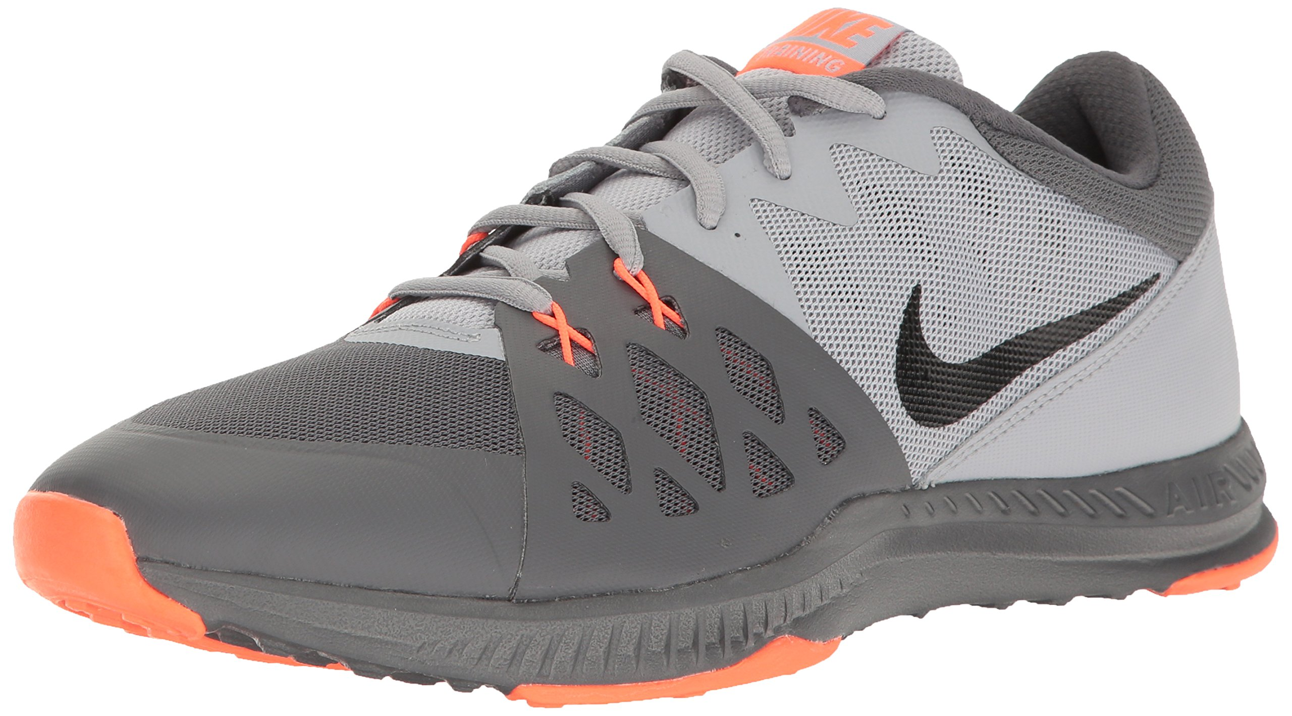 NIKE Men's Air Epic Speed TR II Cross Trainer, Dark Grey/Black/Wolf Grey/Hyper Orange, 9.5 D(M) US by NIKE