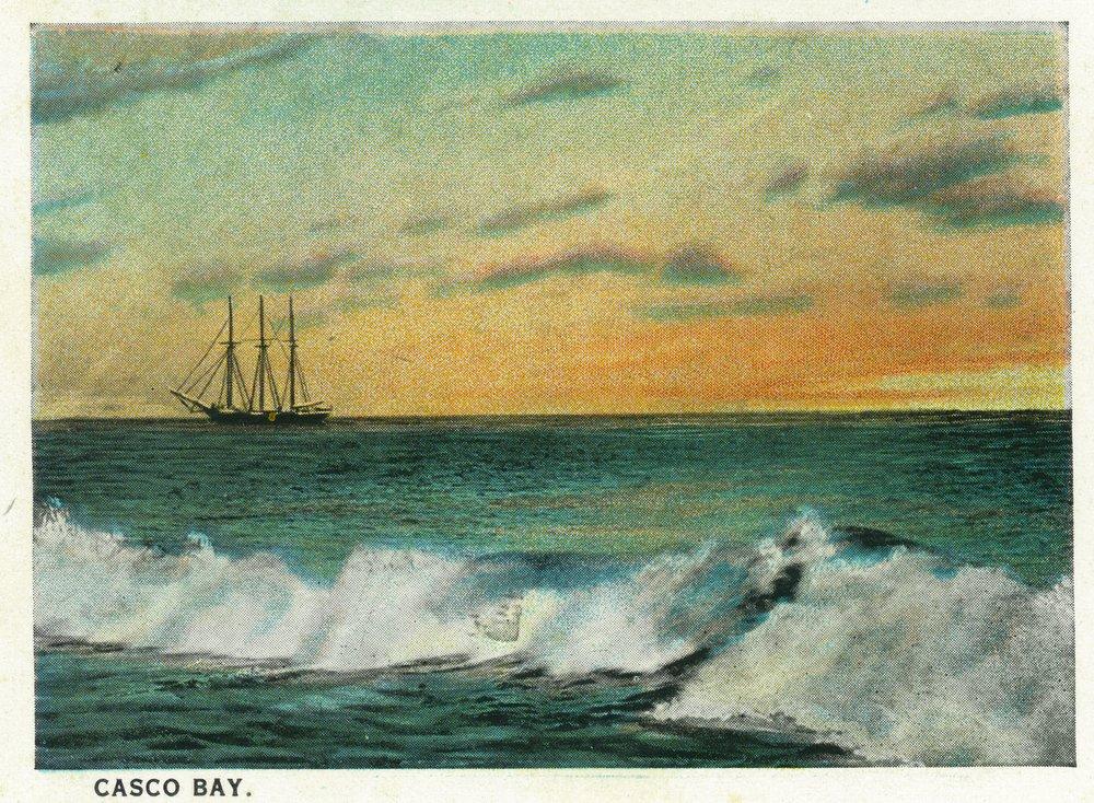 カウくる Casco 54 B01MG3DIQU Bay , Maine – Sunrise View Print of a ship in the Bay 36 x 54 Giclee Print LANT-20246-36x54 B01MG3DIQU 36 x 54 Giclee Print, 学生ショップ一番街:0d7ef73b --- arianechie.dominiotemporario.com