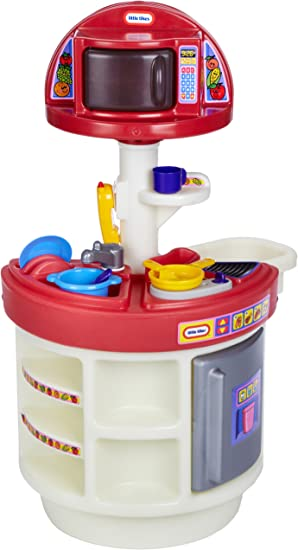 Little Tikes Cookin Around Sounds Kitchen Amazon De Spielzeug