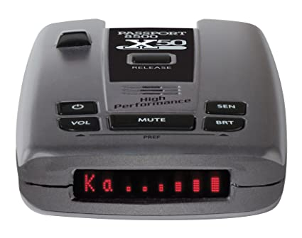 Amazon.com: Escort Passport 8500X50 Black Radar Laser Detector, w Bluetooth and SmartCord USB, Red Display: Automotive