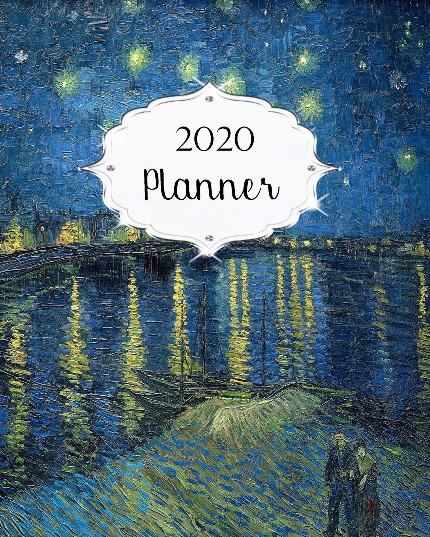 2020 Planner: Van Gogh Daily, Weekly & Monthly Calendars ...