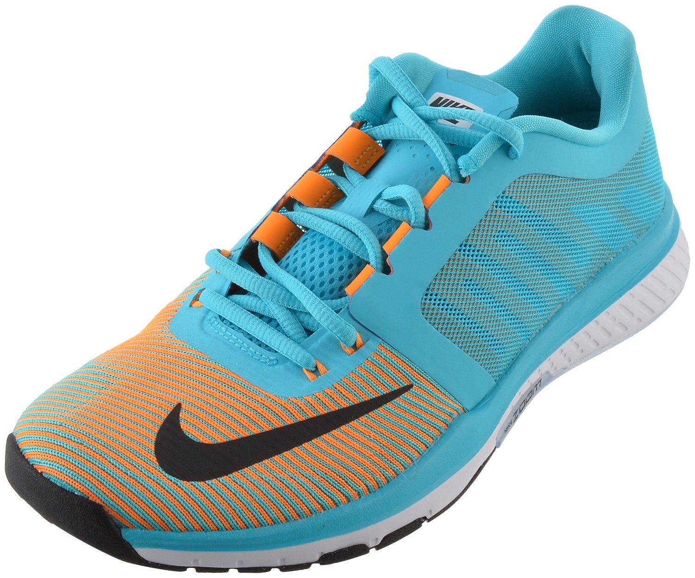 Nike Herren Zoom Speed Tr3 Turnschuhe  42.5 EU|Azul (Azul (Gamma Blue/Black-vivid Orange))