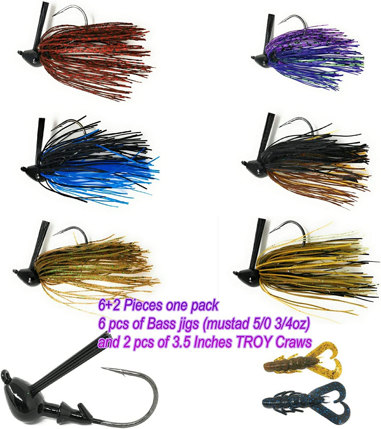Wtrees Swim Jigs Kit