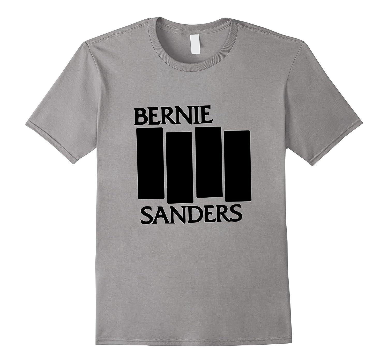 Bernie Sanders Black Flag authentic T shirt 2016-CL