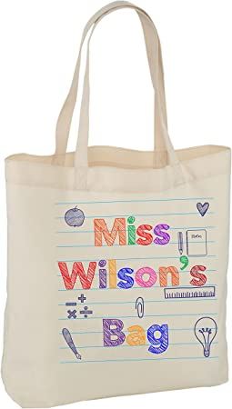Teacher tote bag Personalised bag Thank you gift End of Term Teacher Gift Appreciation Present unique idea Thank you Teacher Gift