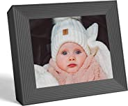 Aura Frames Digital Picture Frame Ultra HD Display - Free Unlimited Cloud Storage - Send 100k Pictures Instantly Via Aura App