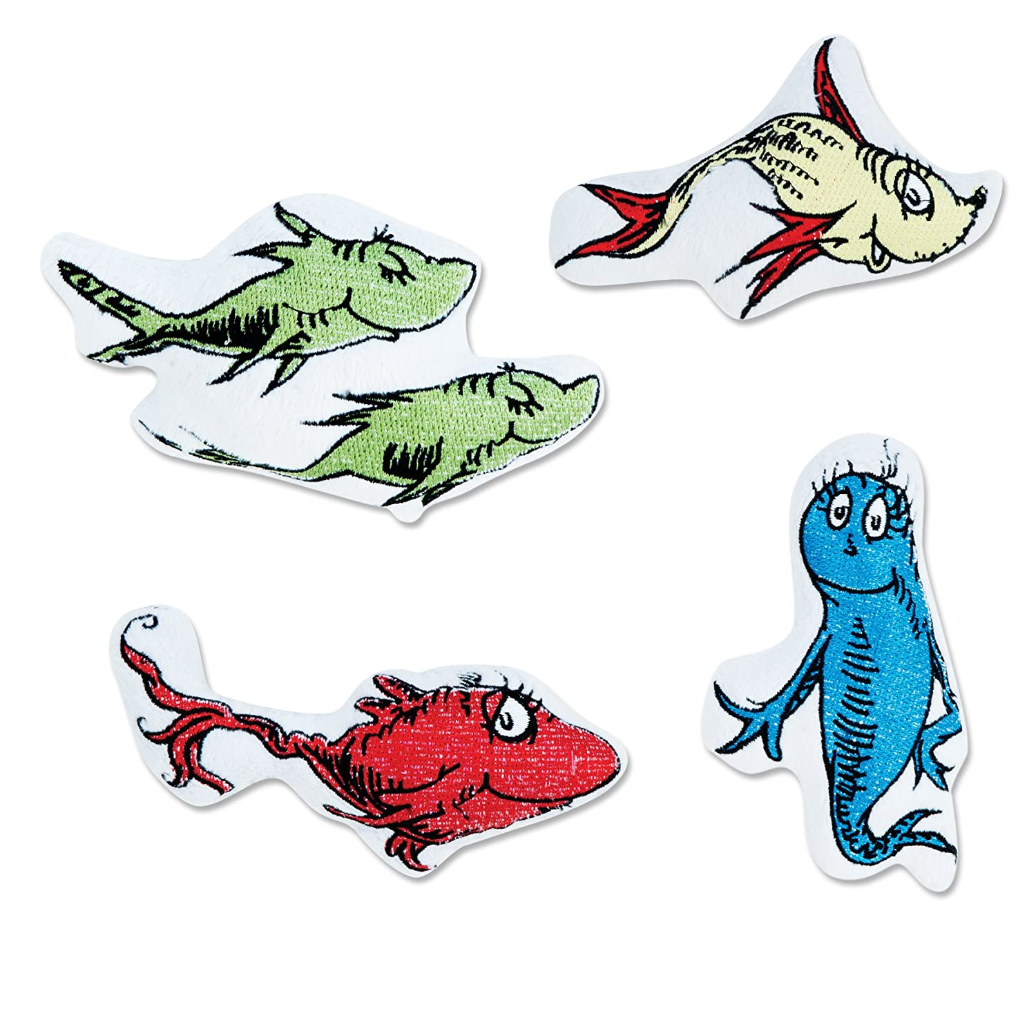 amazoncom trend lab dr seuss mobile cat in the hat nursery mobiles baby - One Fish Two Fish Red Fish Blue Fish Coloring Pages