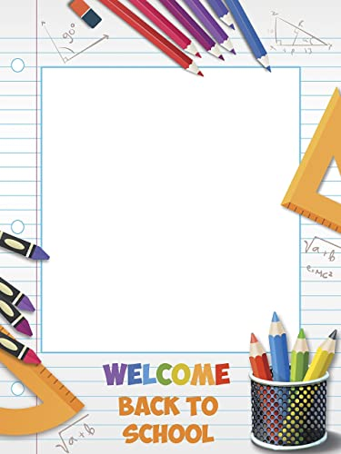 Amazoncom Welcome Back To School First Day Of School School