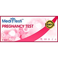 MediTesti™ Pregnancy Test - Early Detection - Includes 25 Pregnancy Test Strips (HCG Test)