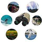 Crisol Compact Binoculars, 10x25 High Powerful