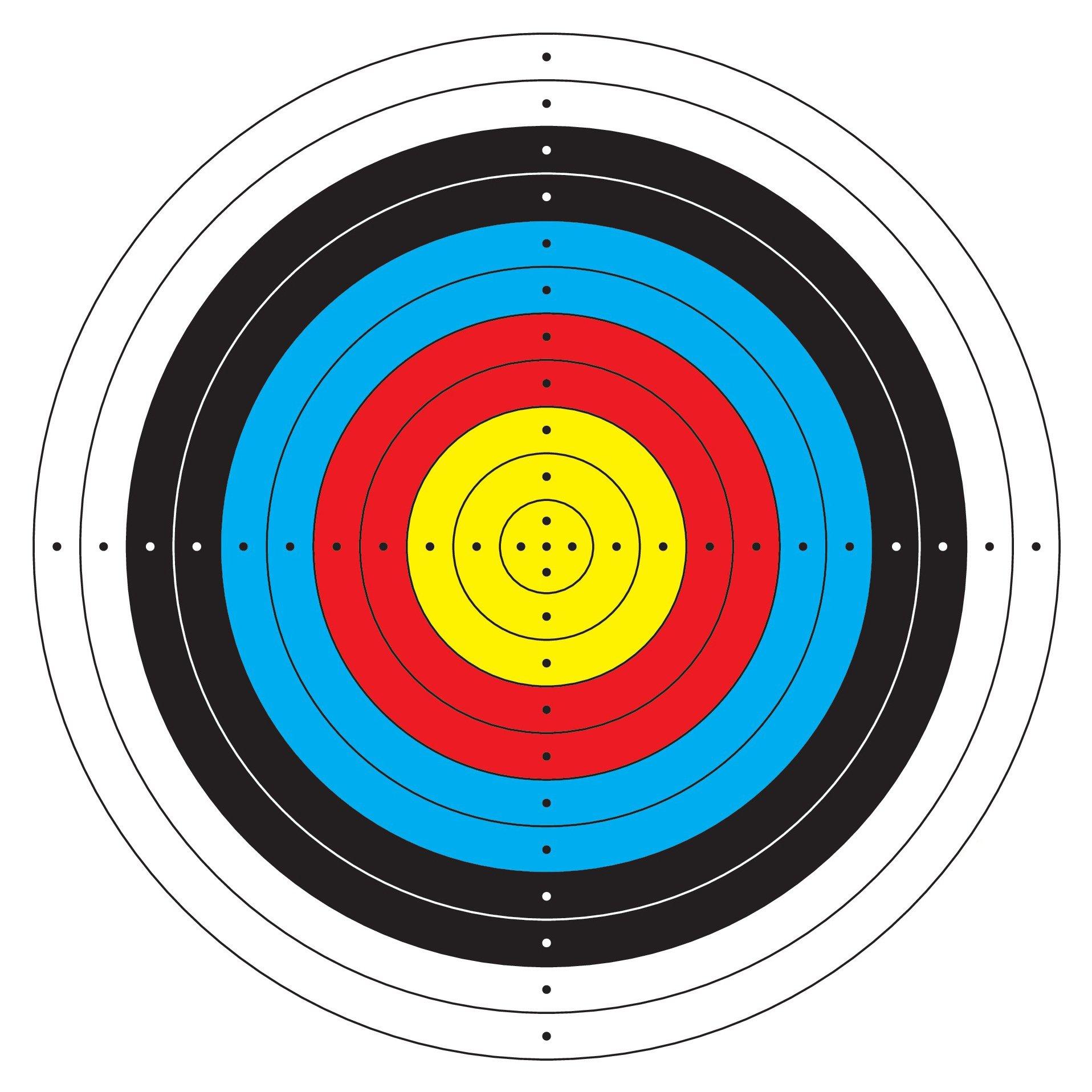 BOLT Crossbows Paper Target 20 Pack