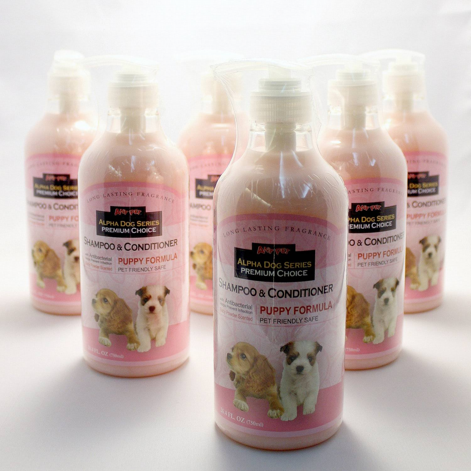 Alpha Dog Series - Puppy Shampoo & Conditioner (Pack of 6) by Alpha Dog Series