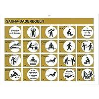 Eliga Cartel Sauna de normas de baño DIN