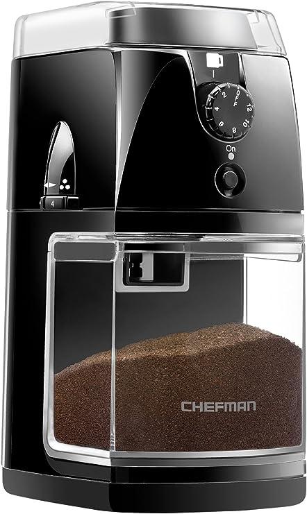 Amazon.com: Chefman Molinillo de café para molinillo de café ...