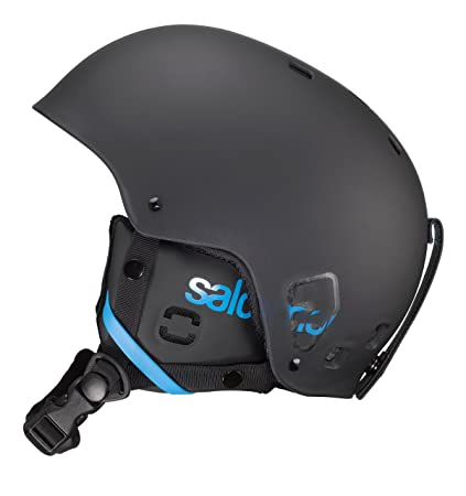 2cf2201ea517 Amazon.com  Salomon Brigade Ski Helmet (Black Matt