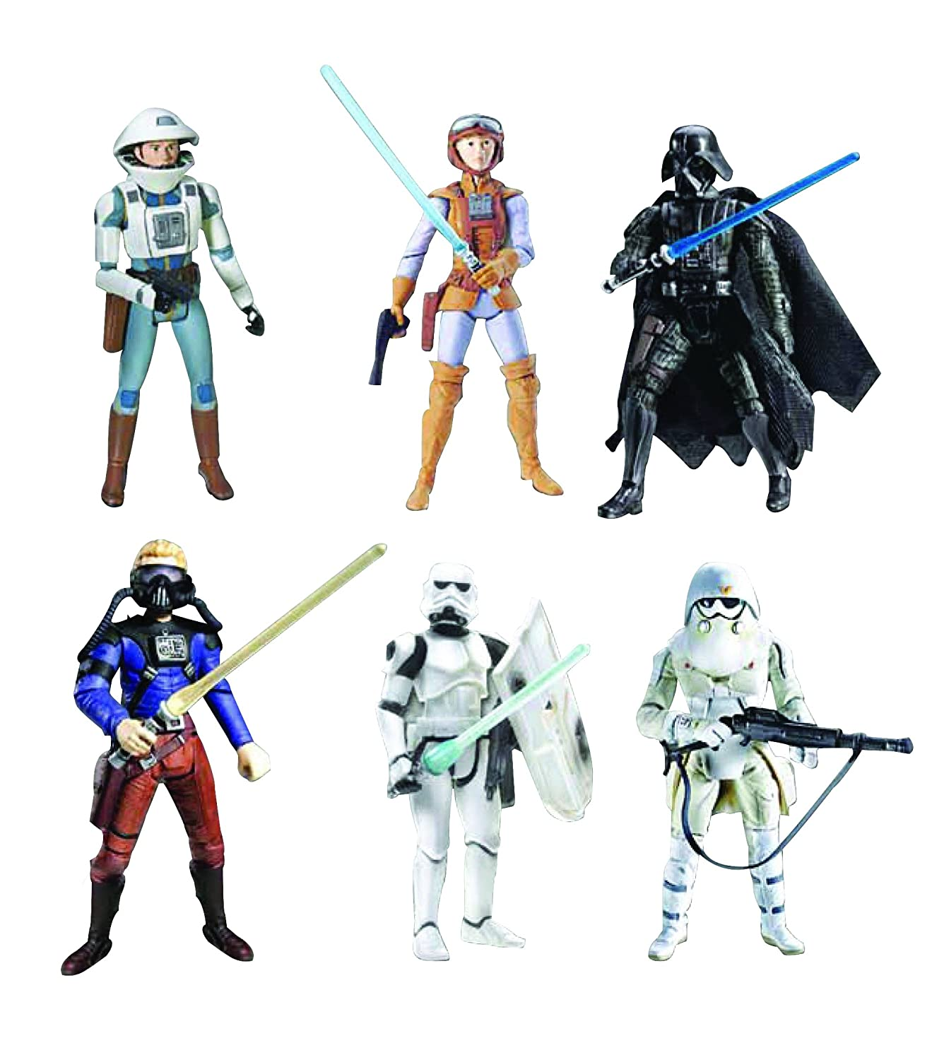 b21f4a4e29 Hasbro Star Wars: Ralph McQuarrie Concept Collection Action Figure Set (2  of 2)
