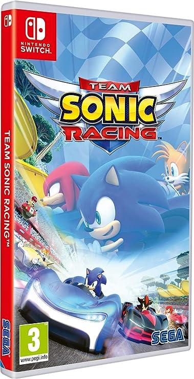 Team Sonic Racing - Nintendo Switch [Importación italiana]: Amazon ...