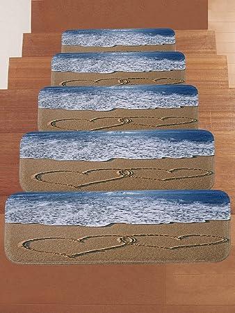 gusj stufenmatten treppen teppich rutschfeste fussmatten teppich laufer modern hochwertig masse