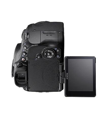 amazon com sony slt a65v 24 3 mp translucent mirror digital slr rh amazon com
